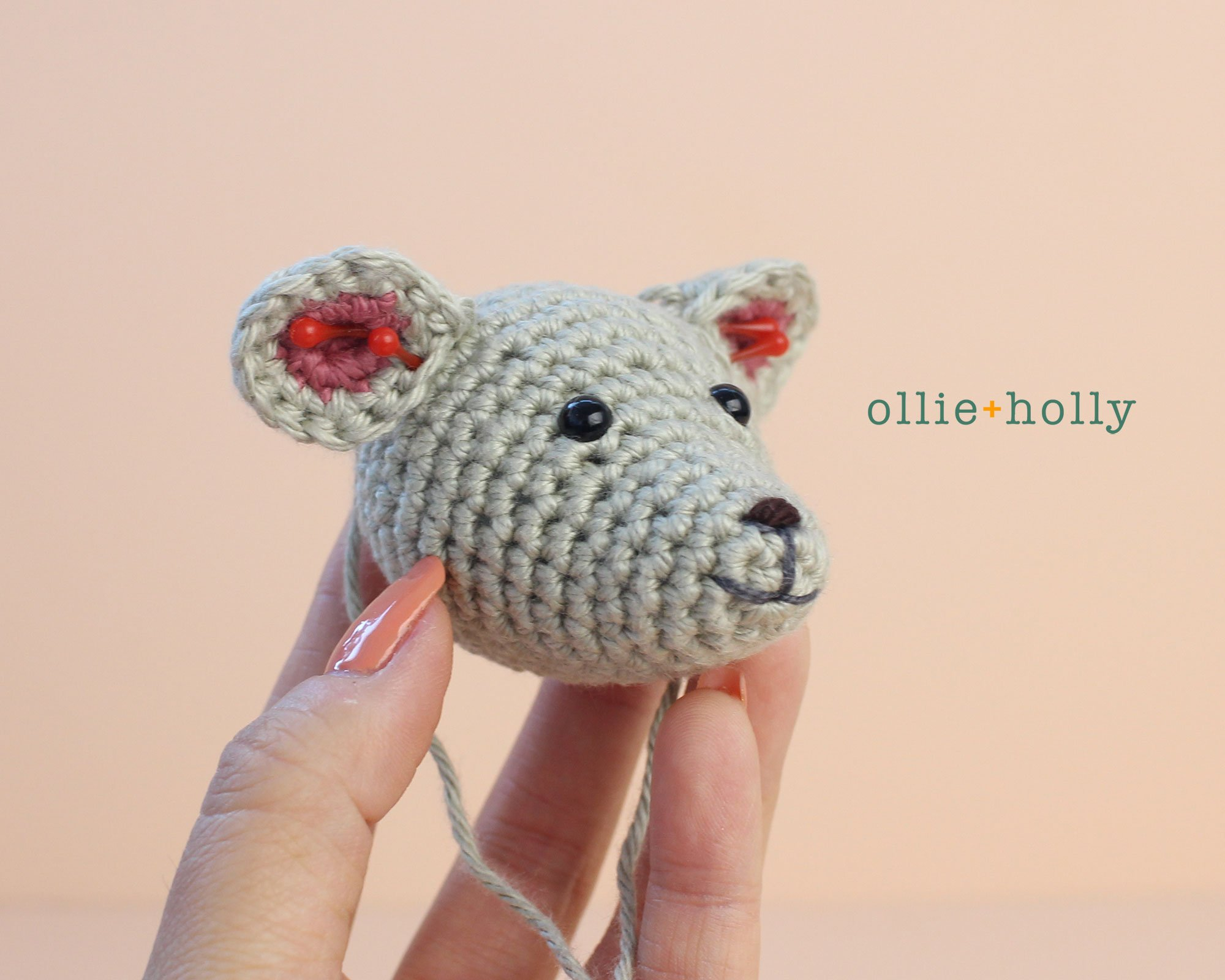 Free Chinese New Year Mouse Amigurumi Crochet Pattern Step 4