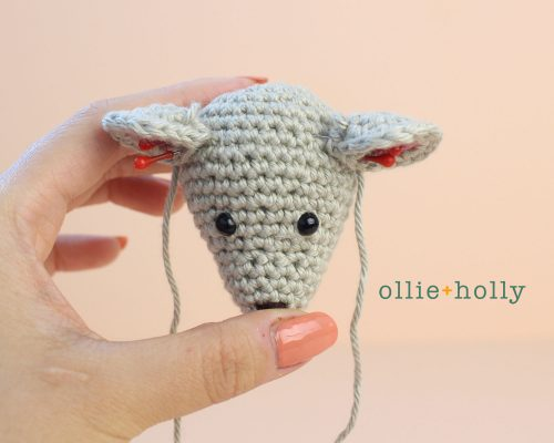 Free Chinese New Year Mouse Amigurumi Crochet Pattern Step 5