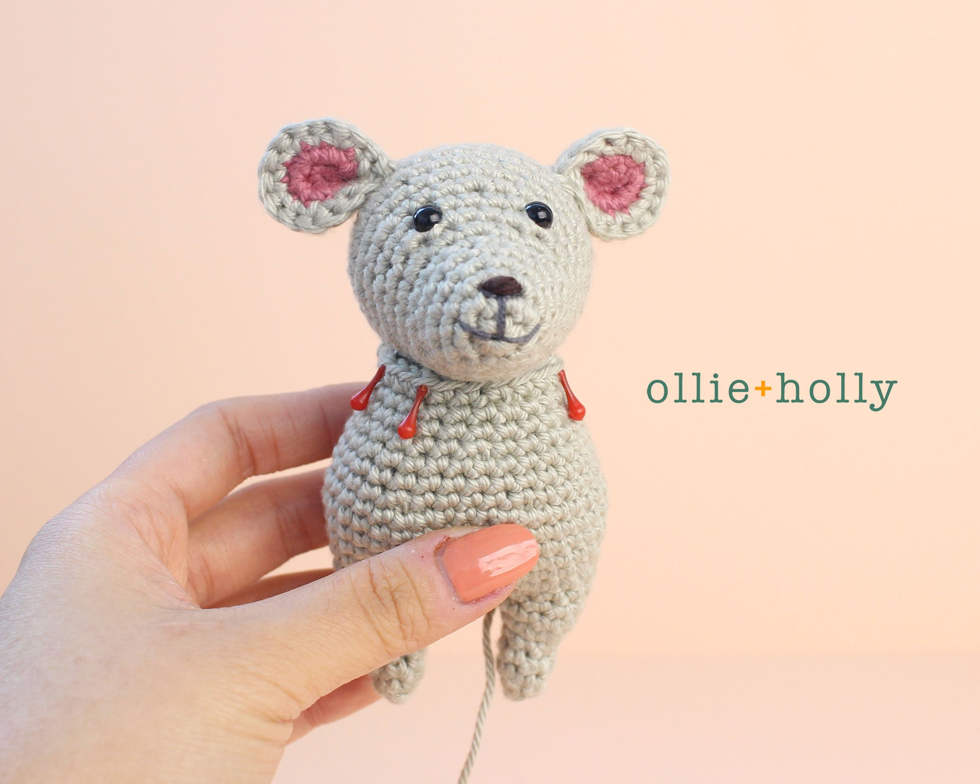 Free Chinese New Year Mouse Amigurumi Crochet Pattern Step 6