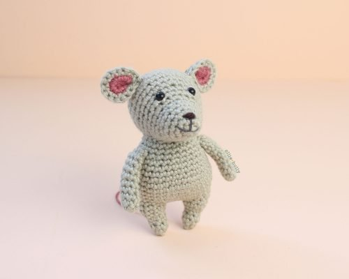 Free Chinese New Year Mouse Amigurumi Crochet Pattern Complete