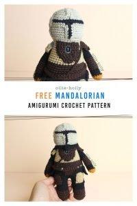 Free Mandalorian Din Djarin Amigurumi Crochet Pattern