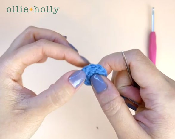 How To Crochet A Seamless Join in the Round Step 9