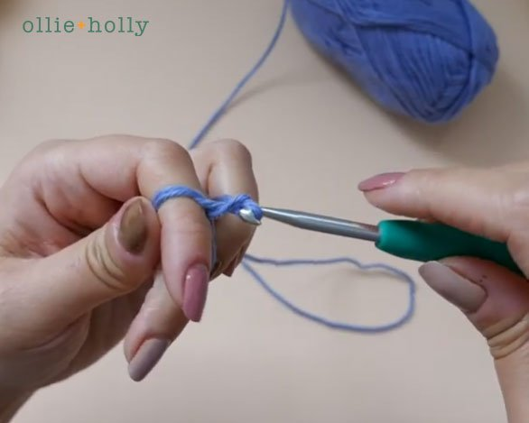 How To Crochet A Magic Circle (Magic Ring) for Amigurumi Step 12