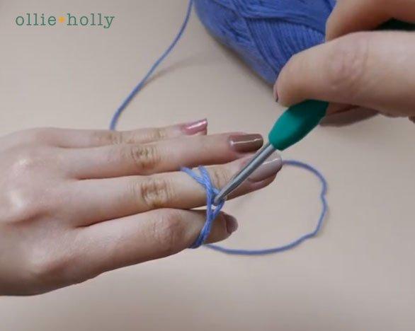 How To Crochet A Magic Circle (Magic Ring) for Amigurumi Step 7
