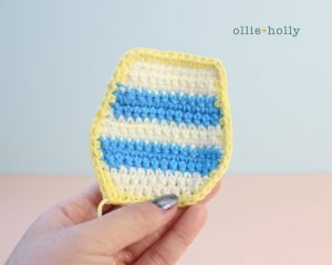 Free Dunsparce Pokemon Amigurumi Crochet Pattern Step 5