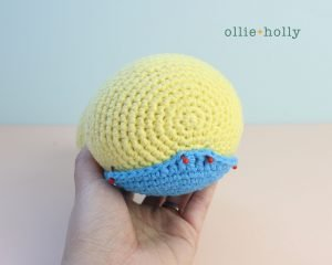 Free Dunsparce Pokemon Amigurumi Crochet Pattern Step 17
