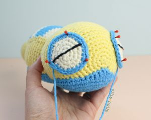 Free Dunsparce Pokemon Amigurumi Crochet Pattern Step 21