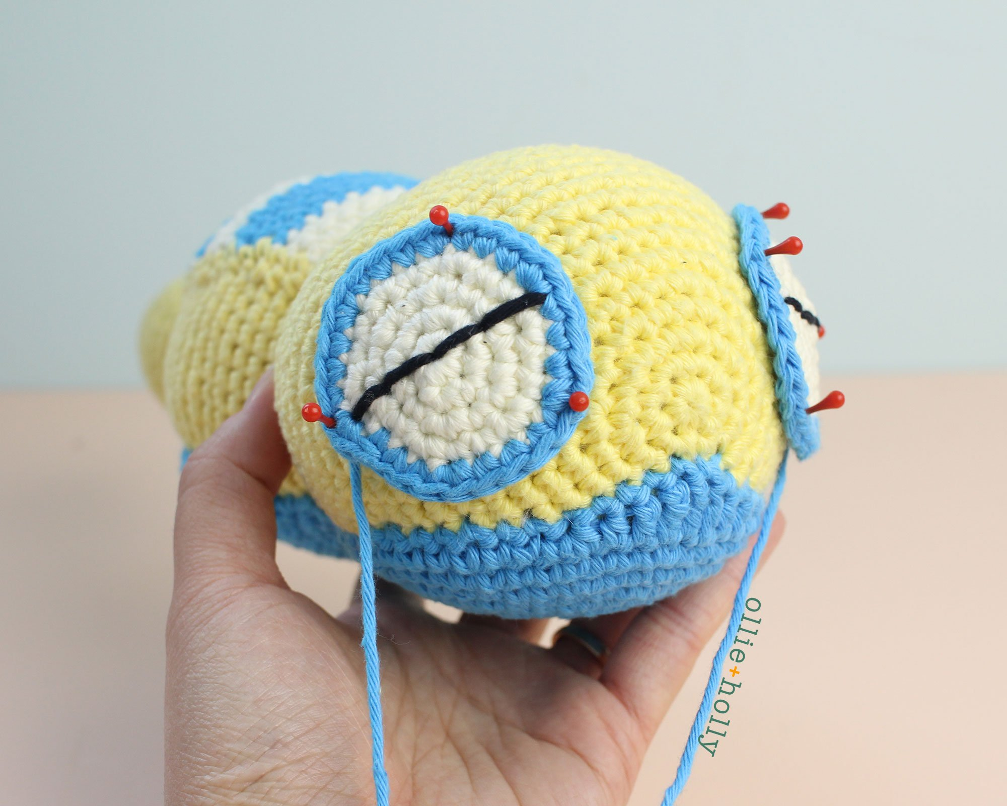 Free Dunsparce Pokemon Amigurumi Crochet Pattern Step 21