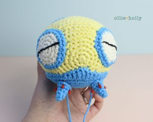 Free Dunsparce Pokemon Amigurumi Crochet Pattern Step 22