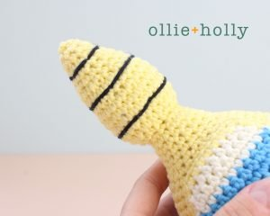 Free Dunsparce Pokemon Amigurumi Crochet Pattern Step 26