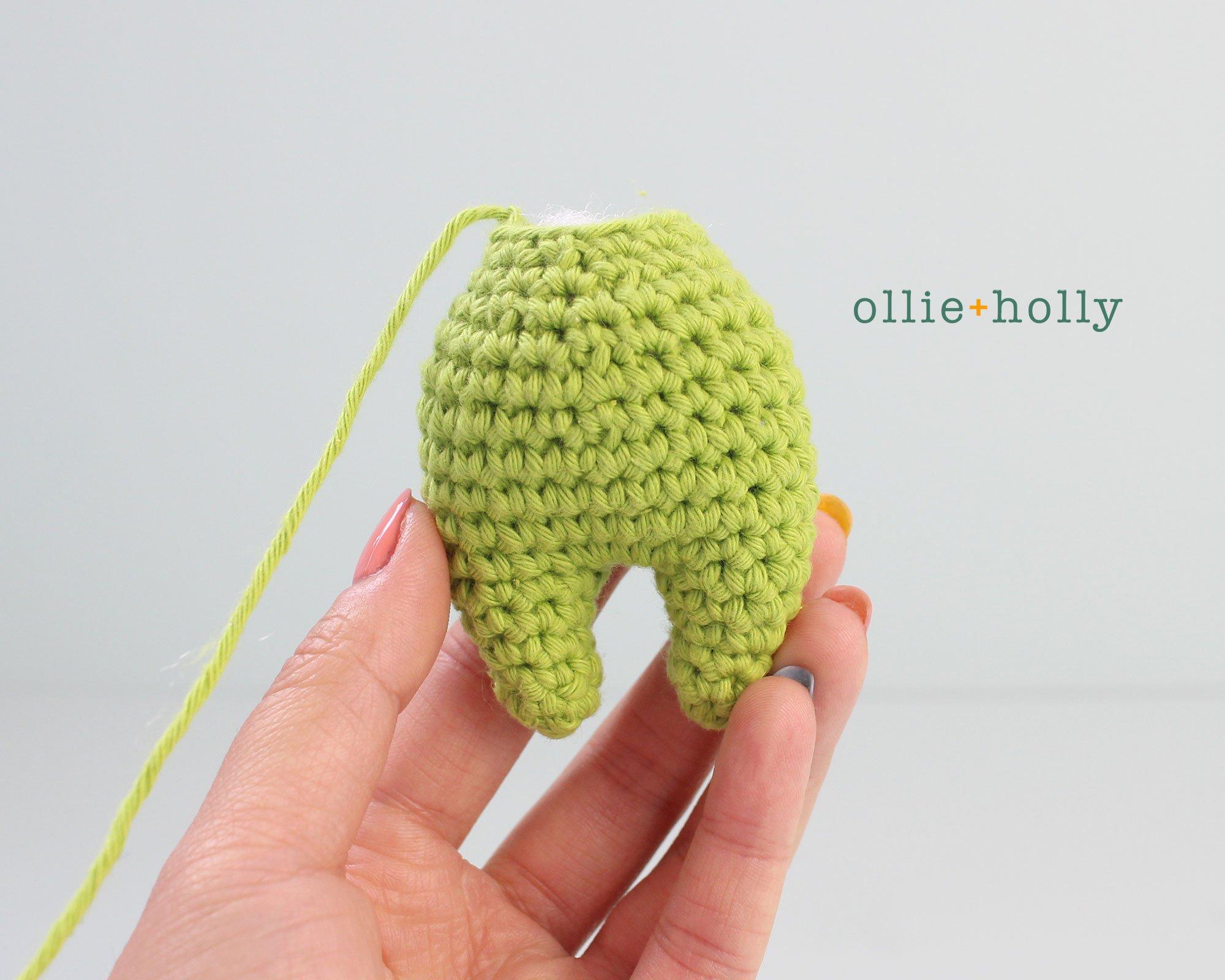 Free Allen The Space Alien Amigurumi Crochet Pattern Body