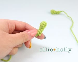 Free Allen The Space Alien Amigurumi Crochet Pattern Antennae