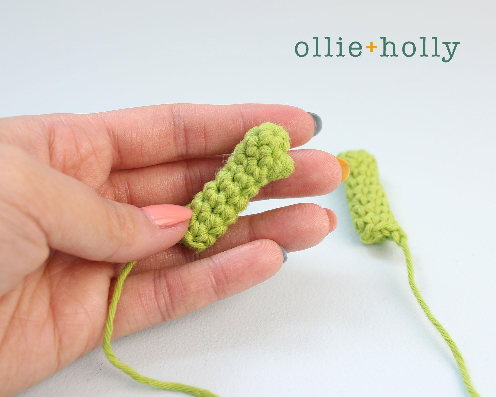 Free Allen The Space Alien Amigurumi Crochet Pattern Arms