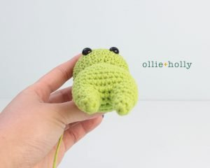 Free Allen The Space Alien Amigurumi Crochet Pattern Step 2