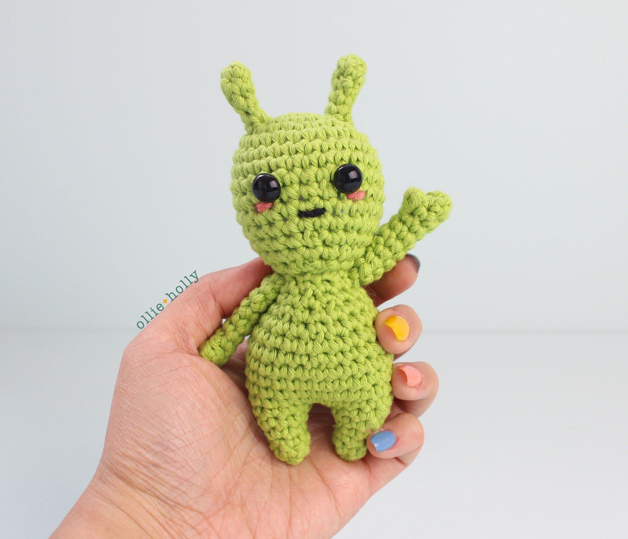 Free Allen The Space Alien Amigurumi Crochet Pattern Ollie Holly Amigurumi Crochet Patterns