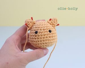 Free Nurse Cat Stuffed Animal Amigurumi Crochet Pattern Step 15
