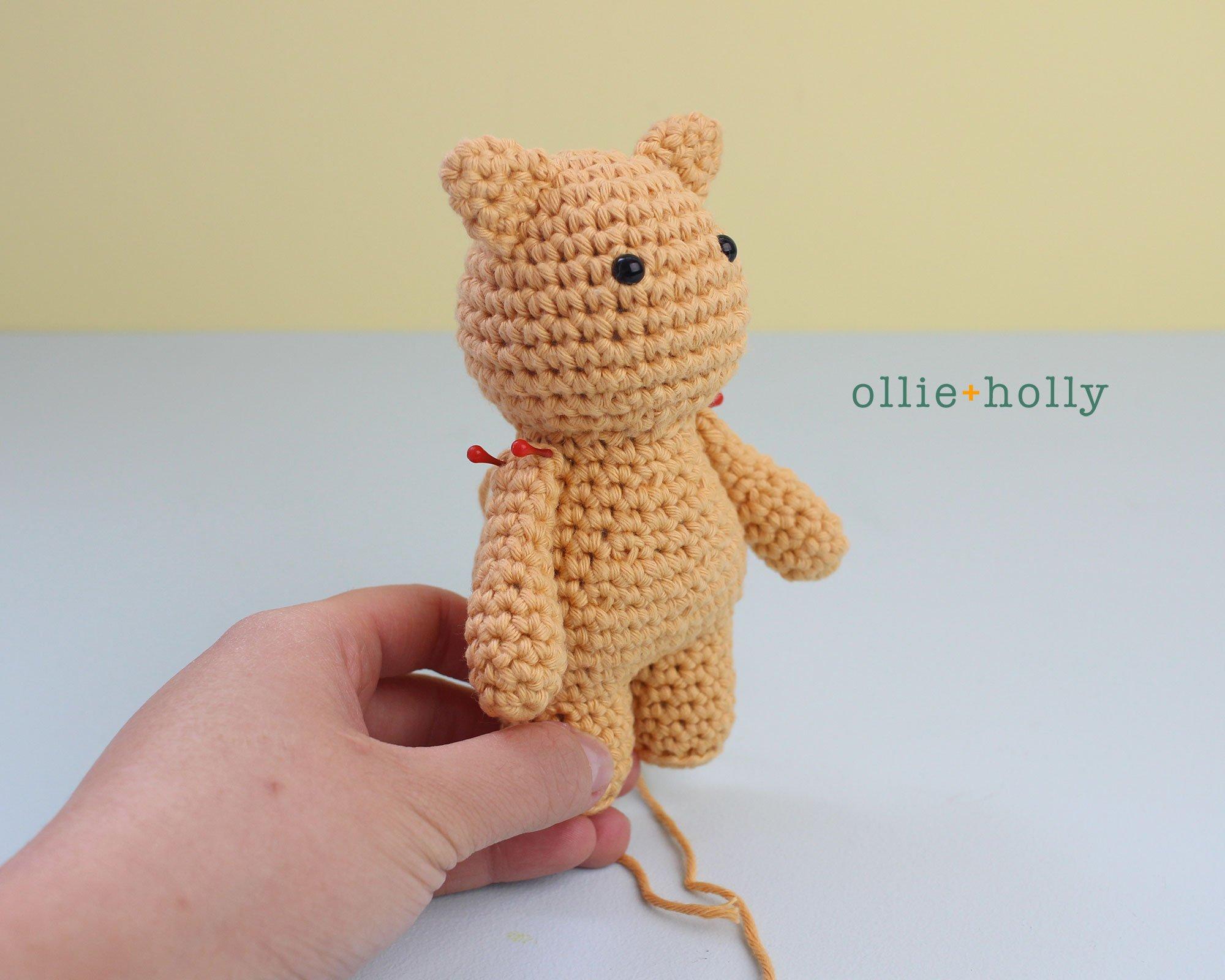 Free Nurse Cat Stuffed Animal Amigurumi Crochet Pattern Step 18