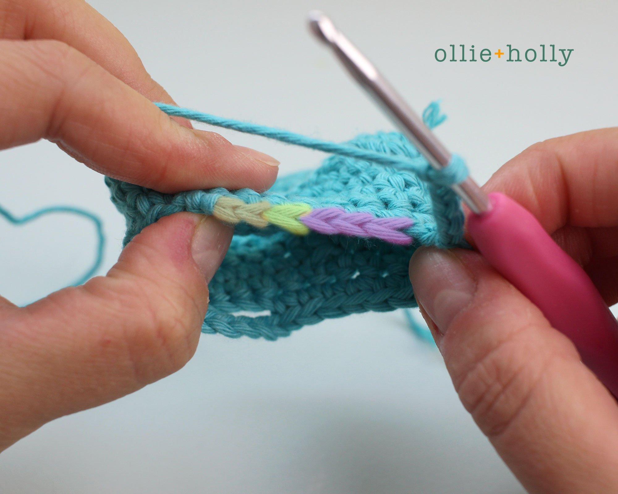 Free Nurse Cat Stuffed Animal Amigurumi Crochet Pattern Step 5
