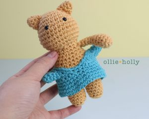 Free Nurse Cat Stuffed Animal Amigurumi Crochet Pattern Step 19