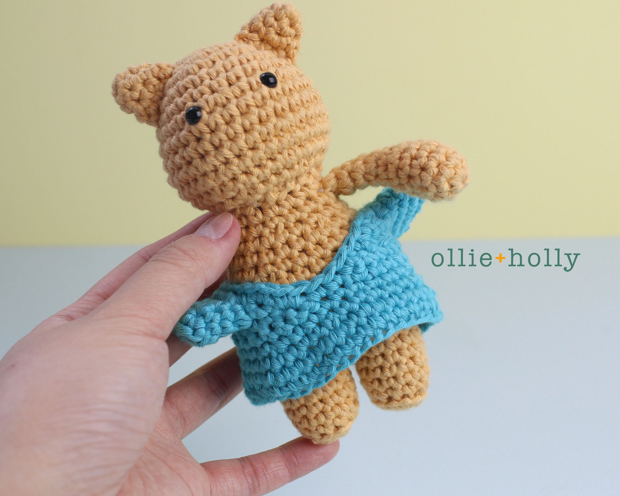 Free Nurse Cat Stuffed Animal Amigurumi Crochet Pattern Step 19