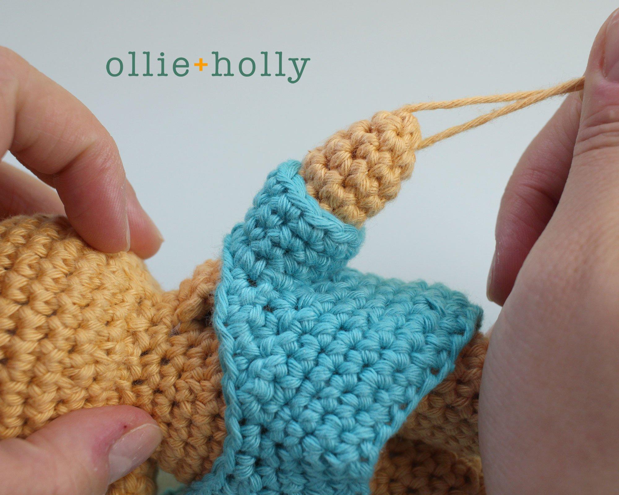 Free Nurse Cat Stuffed Animal Amigurumi Crochet Pattern Step 21