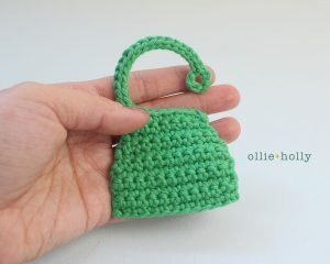 Free Grocery Clerk Bunny Stuffed Animal Amigurumi Crochet Pattern Step 6
