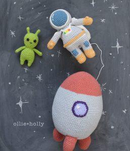 Space Explorer Amigurumi Crochet Pattern