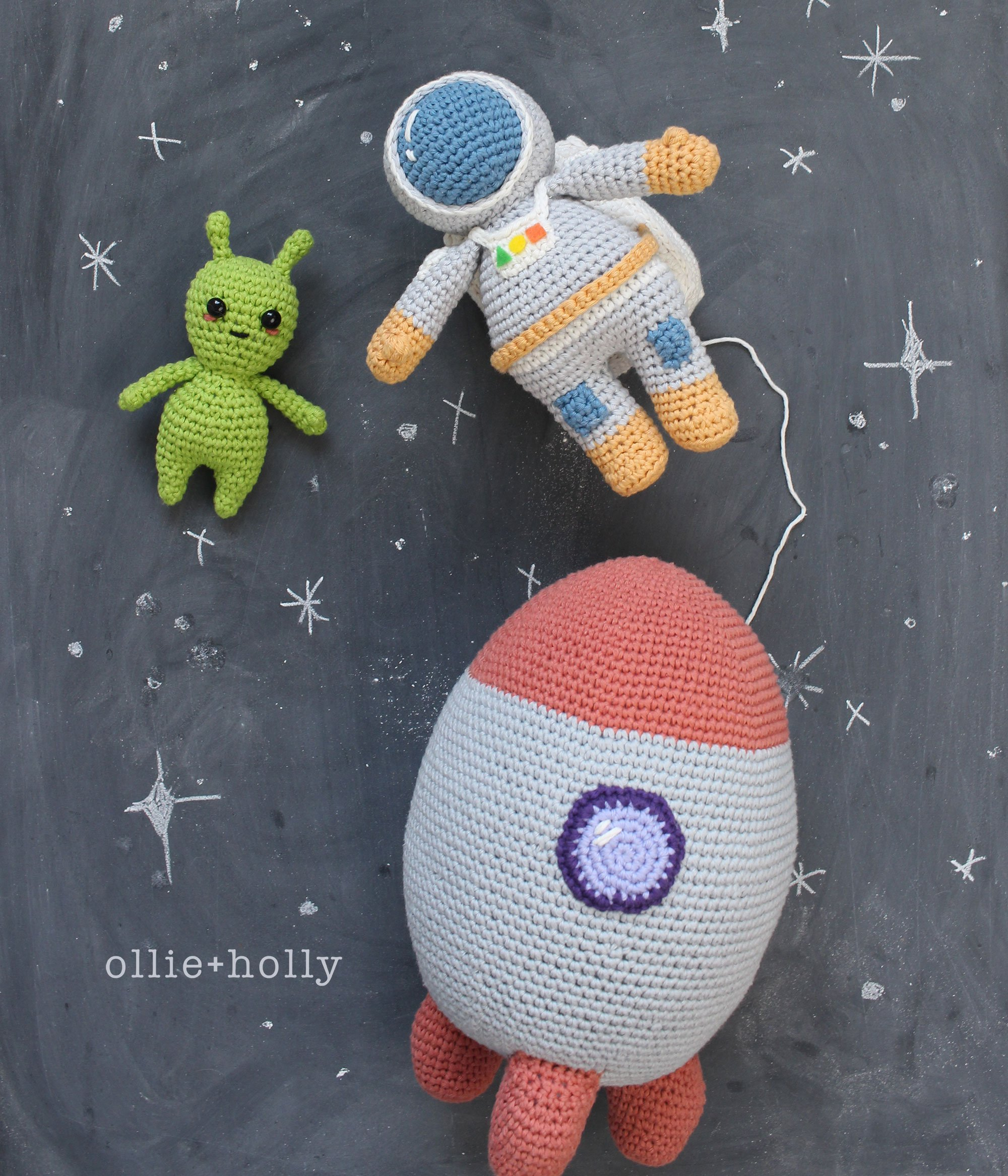 Space Explorer Amigurumi Crochet Pattern