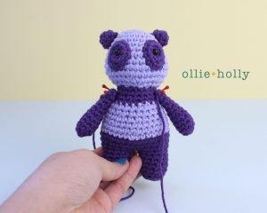 Free Firefighter Panda Stuffed Animal Amigurumi Crochet Pattern Step 35