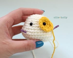 Free Postal Worker Puppy Stuffed Dog Amigurumi Crochet Pattern Step 2