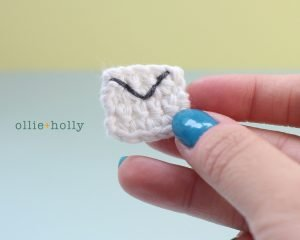 Free Postal Worker Puppy Stuffed Dog Amigurumi Crochet Pattern Step 13