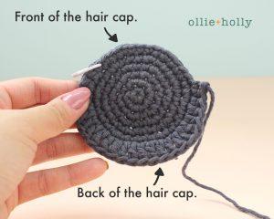 Free Miss Understood (Mr. Frond's Therapy Dolls from Bob's Burgers) Amigurumi Crochet Pattern Step 2