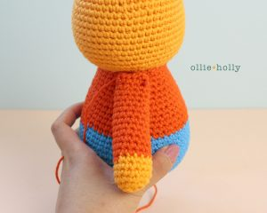 Free Self-Care Claire (Mr. Frond's Therapy Dolls from Bob's Burgers) Amigurumi Crochet Pattern Step 8