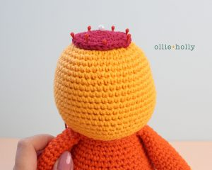 Free Self-Care Claire (Mr. Frond's Therapy Dolls from Bob's Burgers) Amigurumi Crochet Pattern Step 11