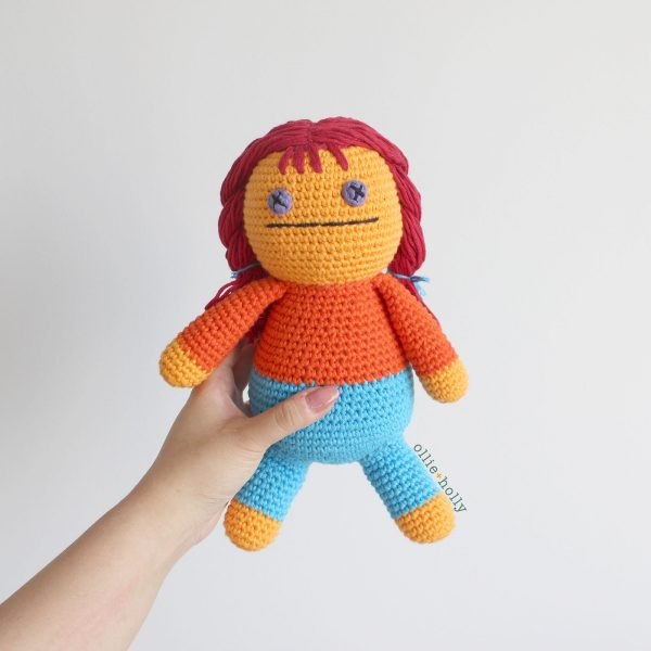 Self-Care Claire From Bob's Burgers Amigurumi Crochet (Pattern Only)