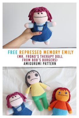 Emma Sweet little Bear and Emily kitten free Amigurumi Crochet ... | 400x267