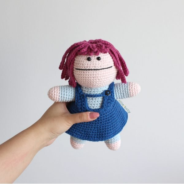 Repressed Memory Emily From Bob's Burgers Amigurumi Crochet (Pattern Only)