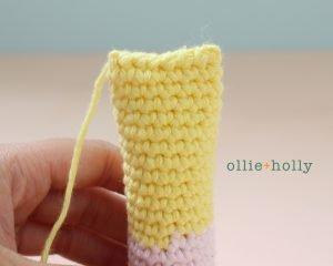 Free Miss Understood (Mr. Frond's Therapy Dolls from Bob's Burgers) Amigurumi Crochet Pattern Step 4