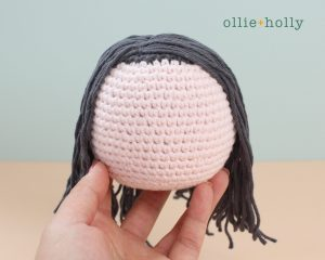 Free Miss Understood (Mr. Frond's Therapy Dolls from Bob's Burgers) Amigurumi Crochet Pattern Step 12