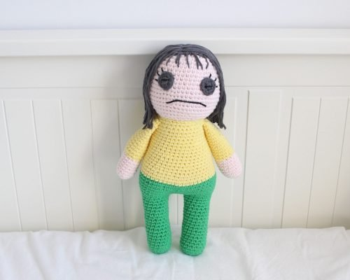 Free Miss Understood (Mr. Frond's Therapy Dolls from Bob's Burgers) Amigurumi Crochet Pattern Individual