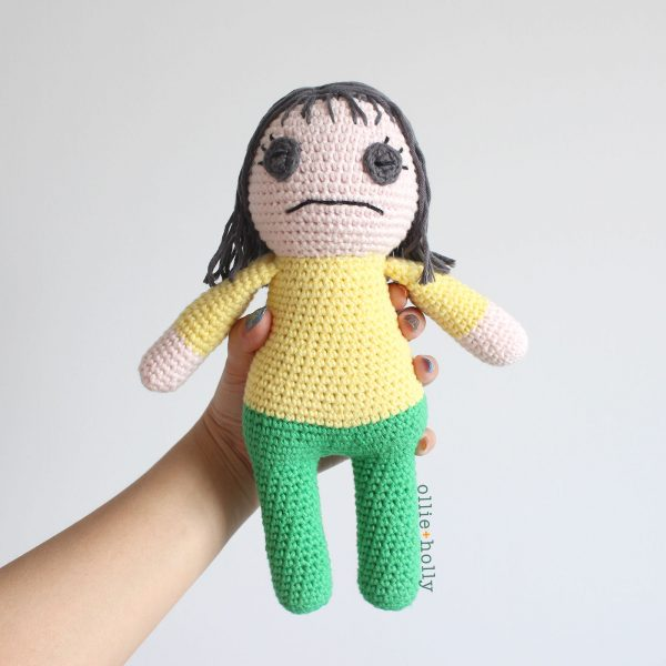 Miss Understood Therapy Doll From Bob's Burgers Amigurumi Crochet (Pattern Only)