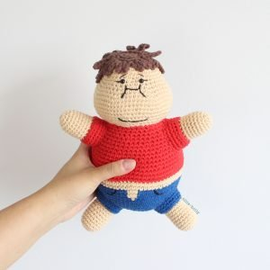 Portion Control Joel Therapy Doll From Bob's Burgers Amigurumi Crochet (Pattern Only)