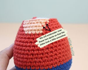 Free Distracts-his-friendzo Lorenzo (Mr. Frond's Therapy Dolls from Bob's Burgers) Amigurumi Crochet Pattern Step 3