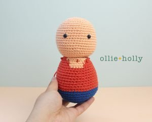 Free Distracts-his-friendzo Lorenzo (Mr. Frond's Therapy Dolls from Bob's Burgers) Amigurumi Crochet Pattern Step 8