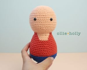 Free Distracts-his-friendzo Lorenzo (Mr. Frond's Therapy Dolls from Bob's Burgers) Amigurumi Crochet Pattern Step 12