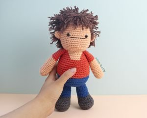 Free Distracts-his-friendzo Lorenzo (Mr. Frond's Therapy Dolls from Bob's Burgers) Amigurumi Crochet Pattern Complete