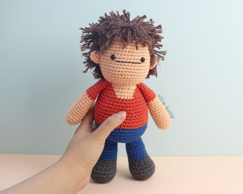 Free Distracts-his-friendzo Lorenzo (Mr. Frond's Therapy Dolls from Bob's Burgers) Amigurumi Crochet Pattern