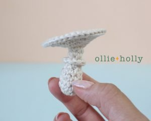 Free Halloween Poisonous Mushroom Amigurumi Ornament Crochet Pattern Step 4