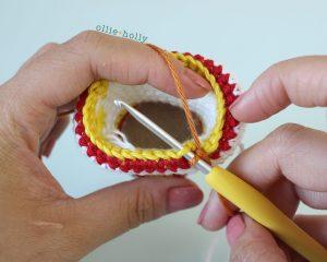 Free Cup Noodles Instant Ramen Amigurumi Toy Crochet Pattern Soup Step 2