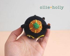 Free Frankenkitty & Pumpkitten Halloween Cat Ornaments Amigurumi Crochet Pattern Step 10